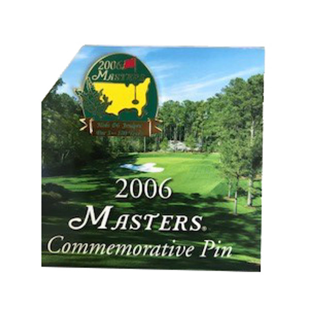 Masters 2006 Commemorative Pin