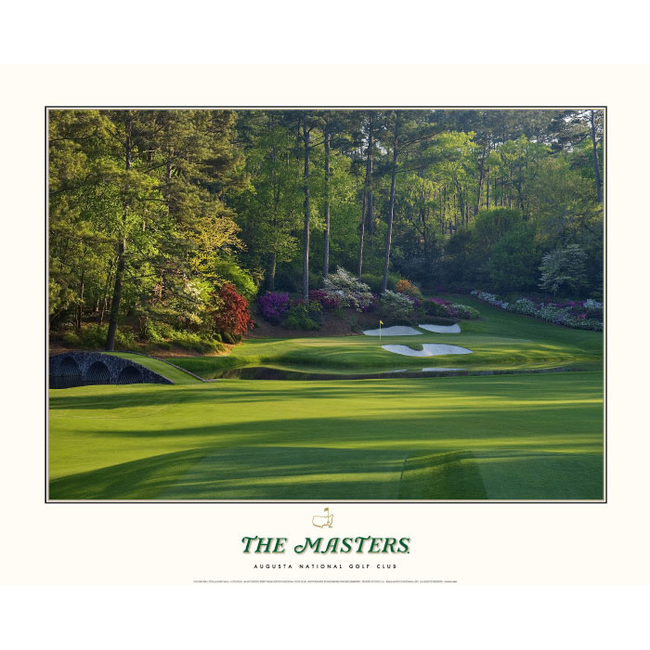 Golden Bell Masters Poster- 12th Hole