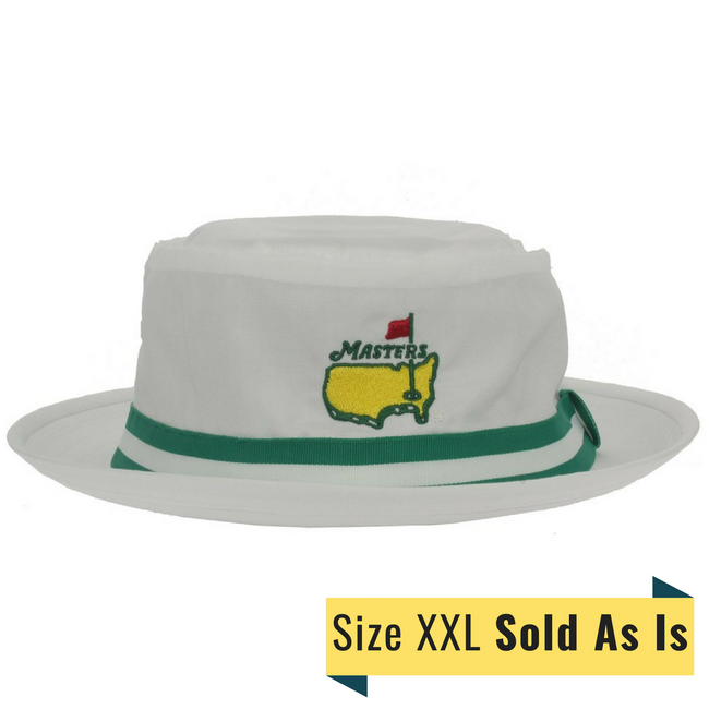 Masters White Bucket Hat *As Is