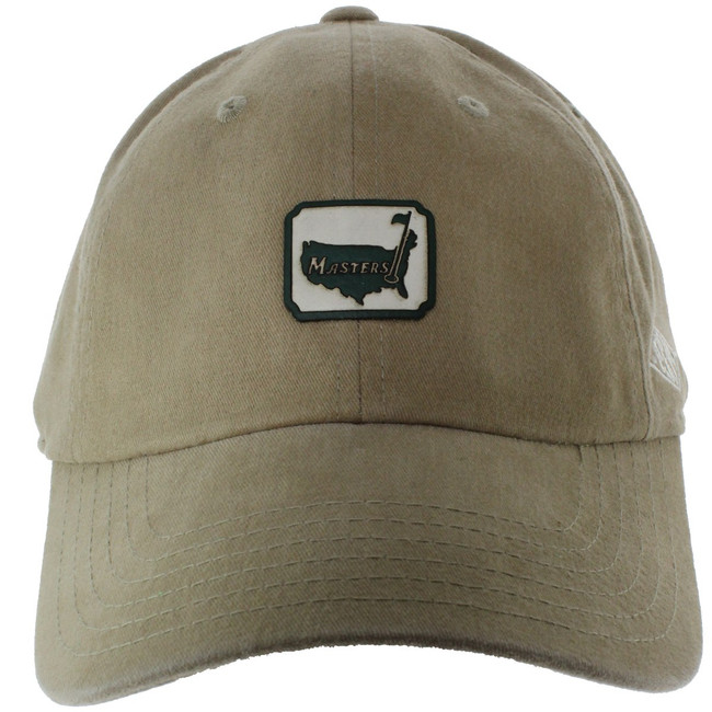Masters 1934 Collection Khaki Hat with Square Logo