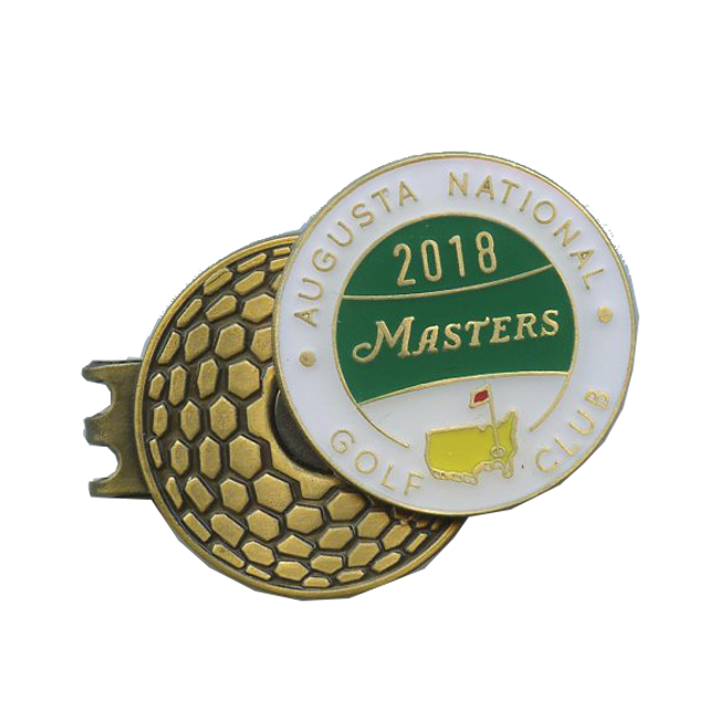 2018 Masters Tournament Dated Hat Clip