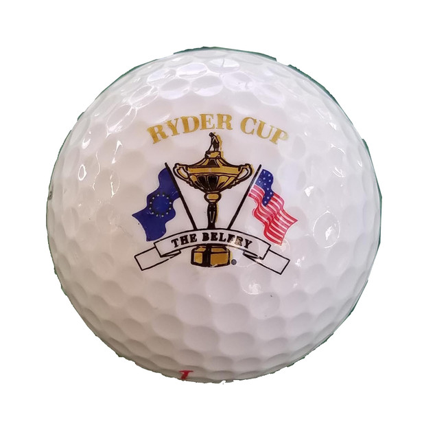 Ryder Cup Single Golf Ball- The Belfry
