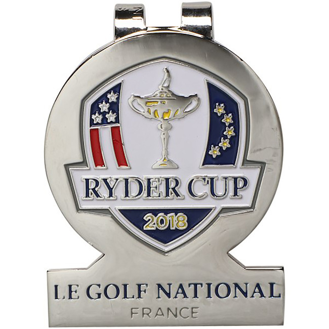2018 Ryder Cup Metal Money Clip