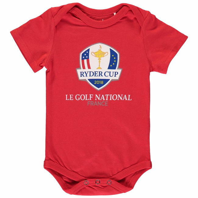 2018 Ryder Cup Infant Onesie - Red