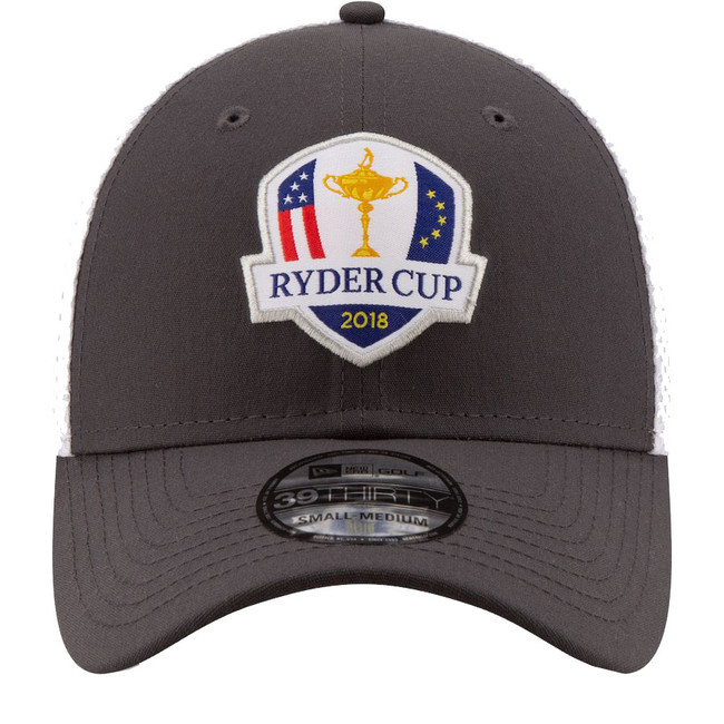 2018 Ryder Cup New Era Hat- 39Thirty Flex Fit- Gray