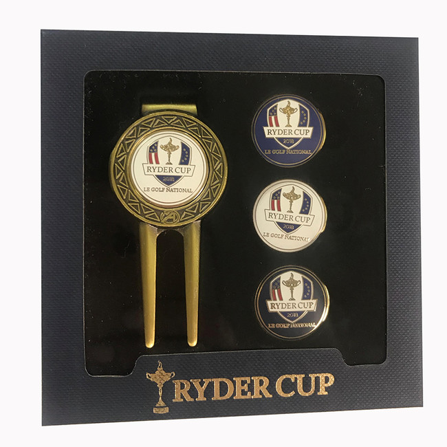 2018 Ryder Cup Divot Tool Set with BallMarkers
