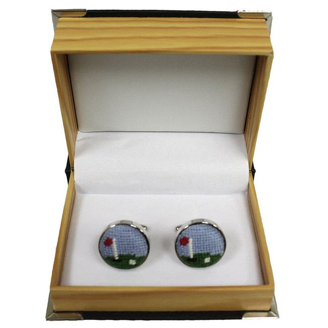 Smathers & Branson Golf Course Cufflinks