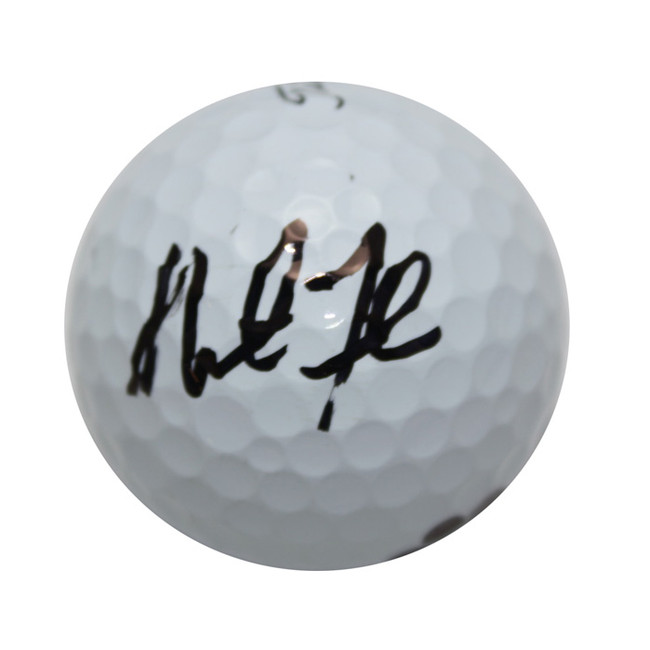 Martin Flores Autographed Prov1 Golf Ball Used on Course
