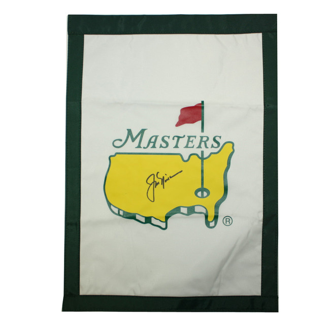 Jack Nicklaus Autographed Masters Garden Flag