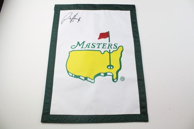 Masters Garden Flag Autographed Padrag Harrington