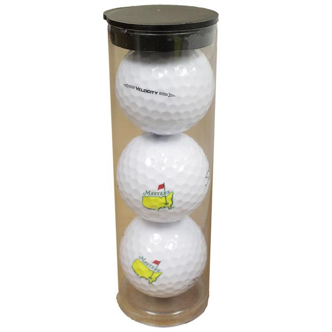 Titleist Velocity Masters 3 Pack Golf Balls- Brand New!