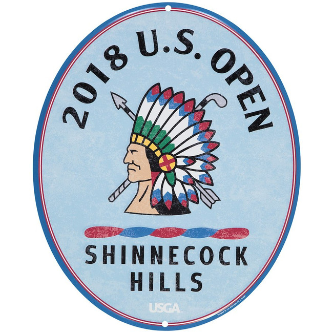 2018 US Open Large Metal Large Pub Sign