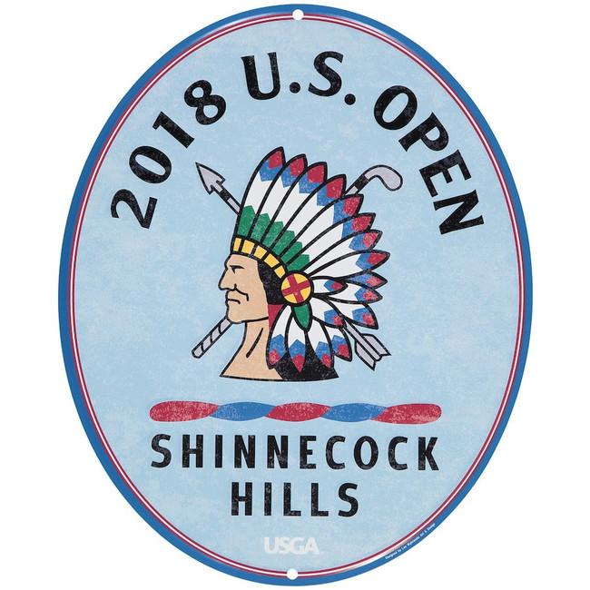 2018 US Open Large Metal Large Pub Sign