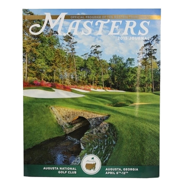 2015 Masters Journal - Special Price