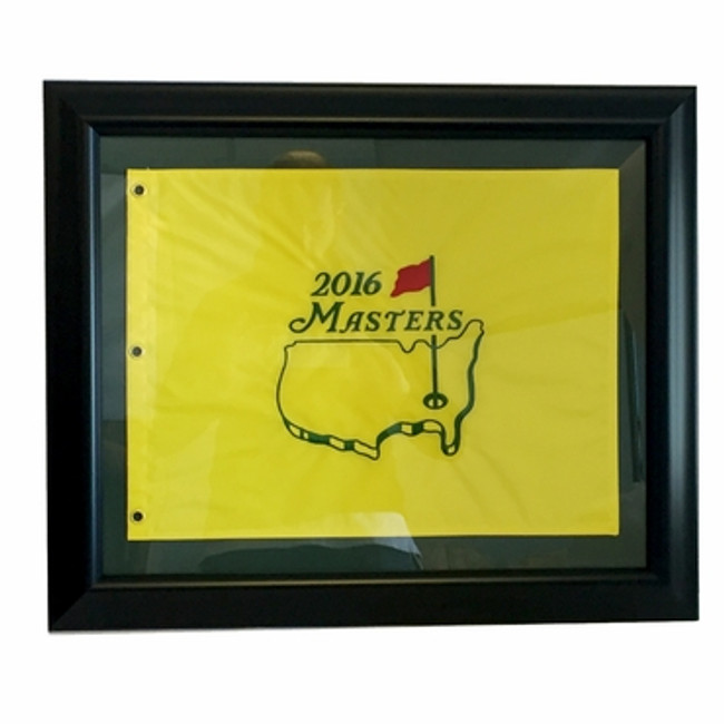2016 Masters Pin Flag - Framed