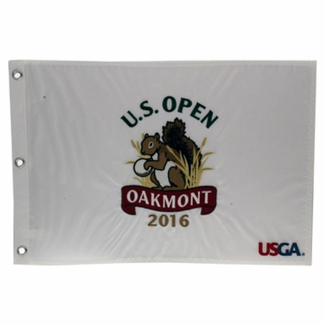 2016 US Open Pin Flag - Oakmont CC *Dustin Johnson Champion