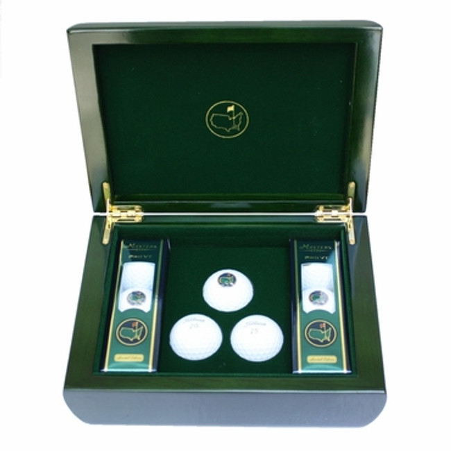 Masters Commemorative Box & Golf Balls