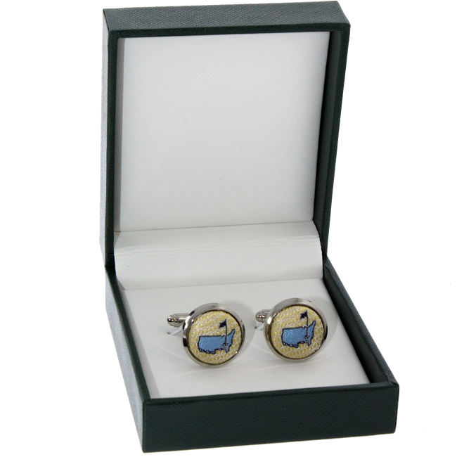 Masters Cuff Links - Yellow