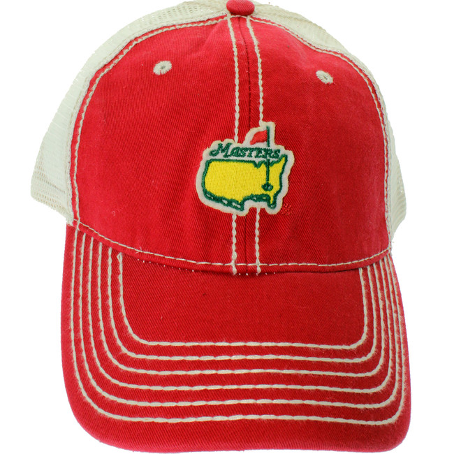 Masters Red Trucker Hat
