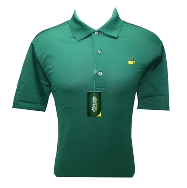 Masters Green Jersey Golf Shirt