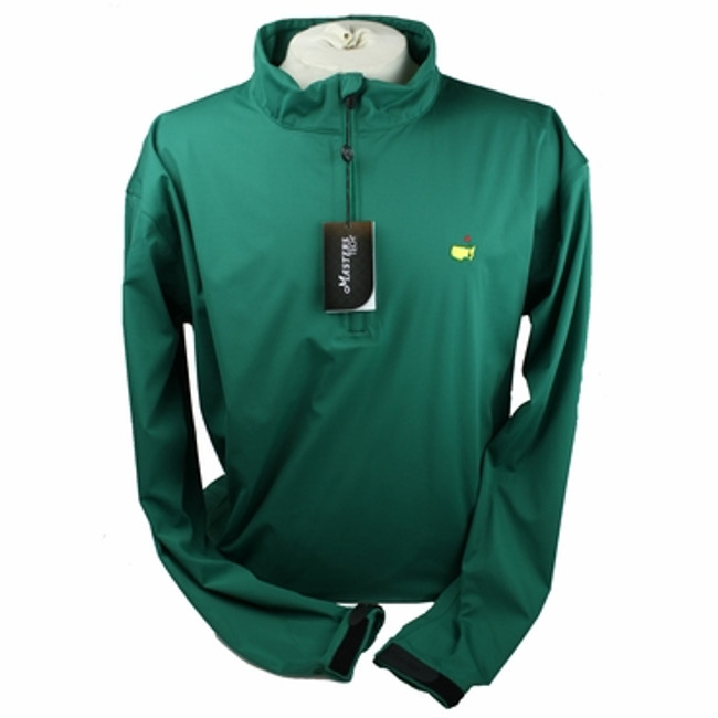 Masters Tech Long Sleeve Windshirt - Green