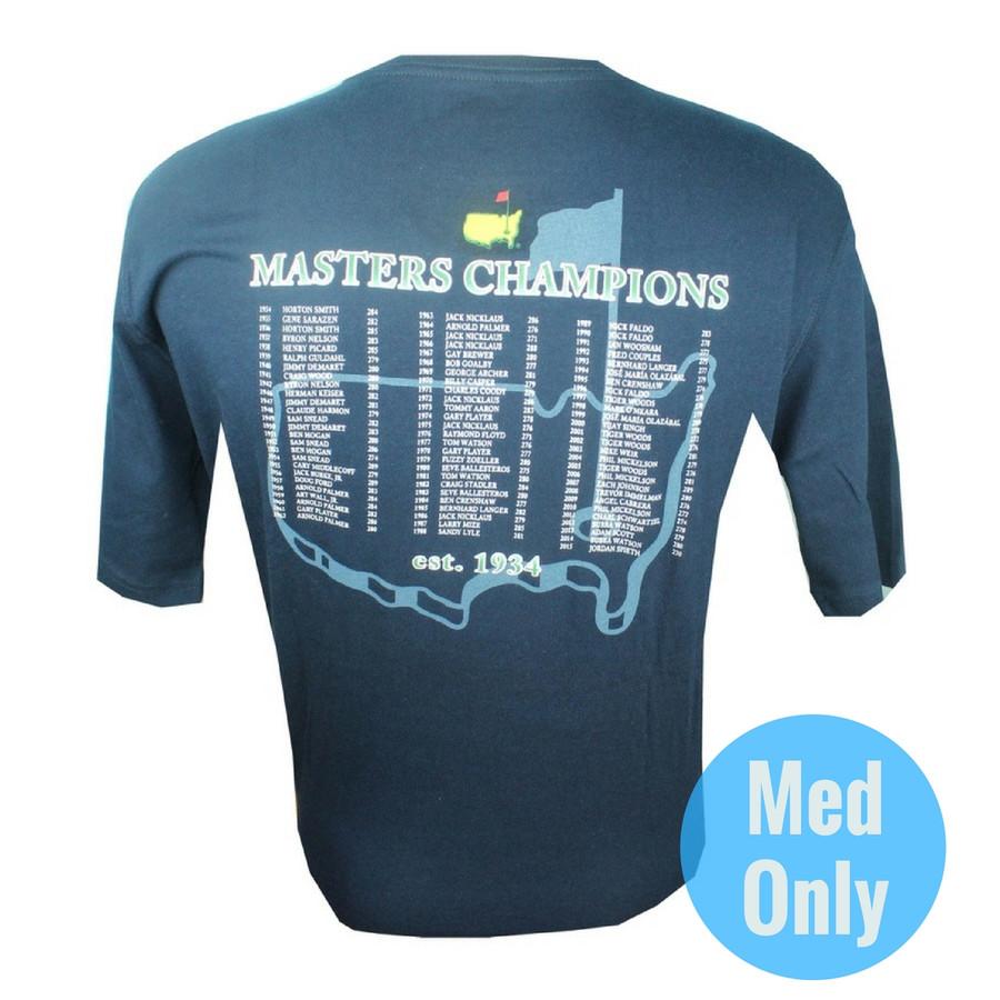 2016 Masters Champions T-Shirt - Navy