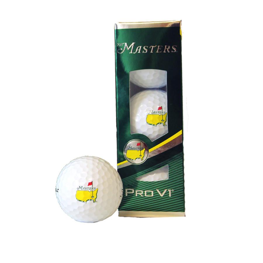 Masters Golfballs - Pro V1 - 3 Pack 2017