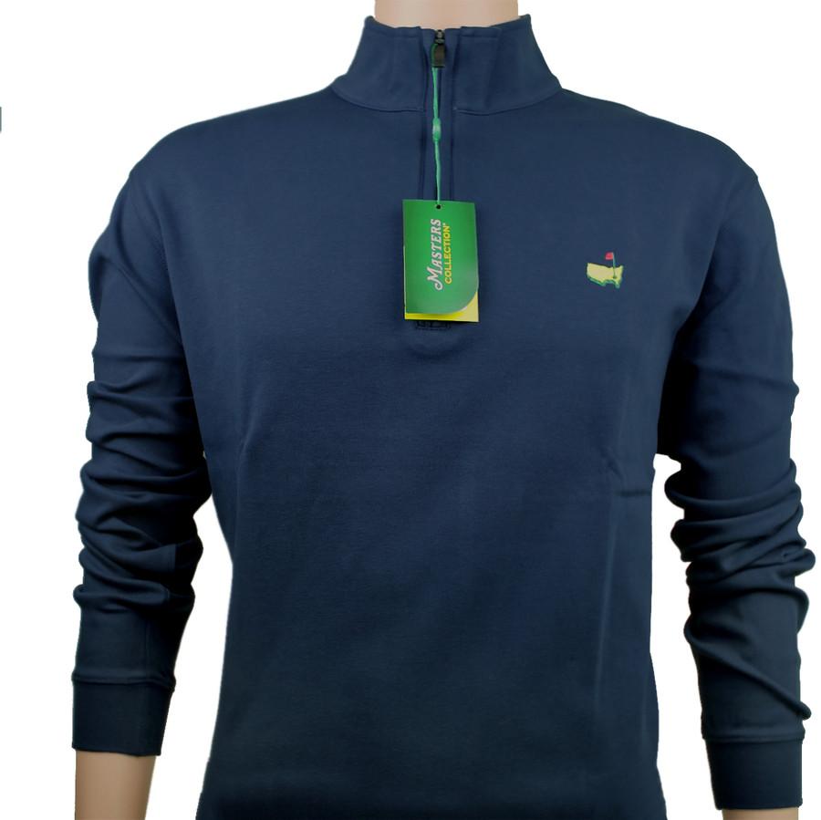 Masters 1/4 Zip Pullover- Navy