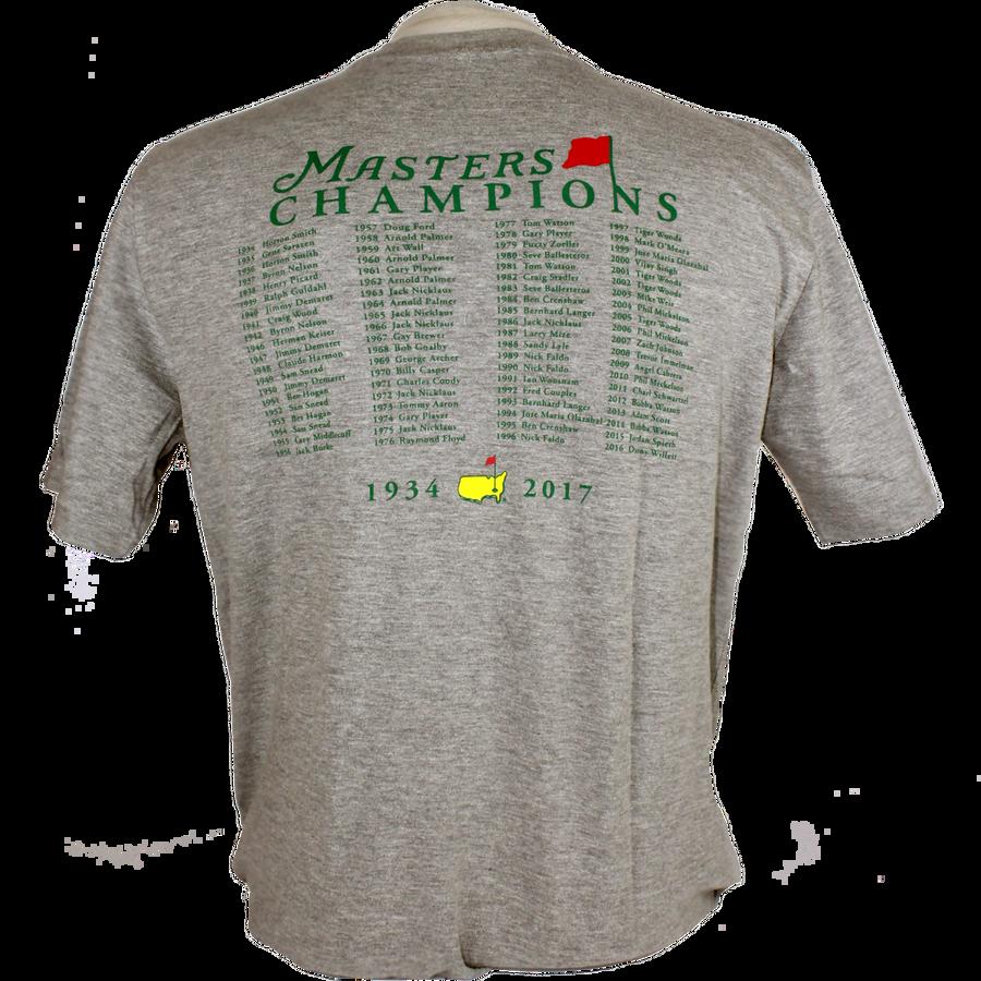 2017 Masters Champions T-Shirt - Grey