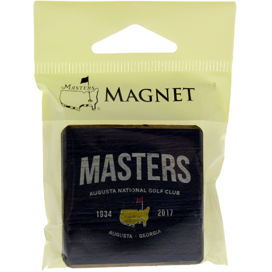 Masters Navy Square Magnet