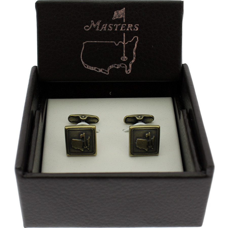 Masters Cuff Links - Brass
