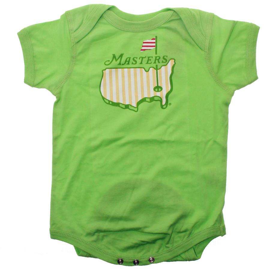 Masters Light Green Baby Onesie