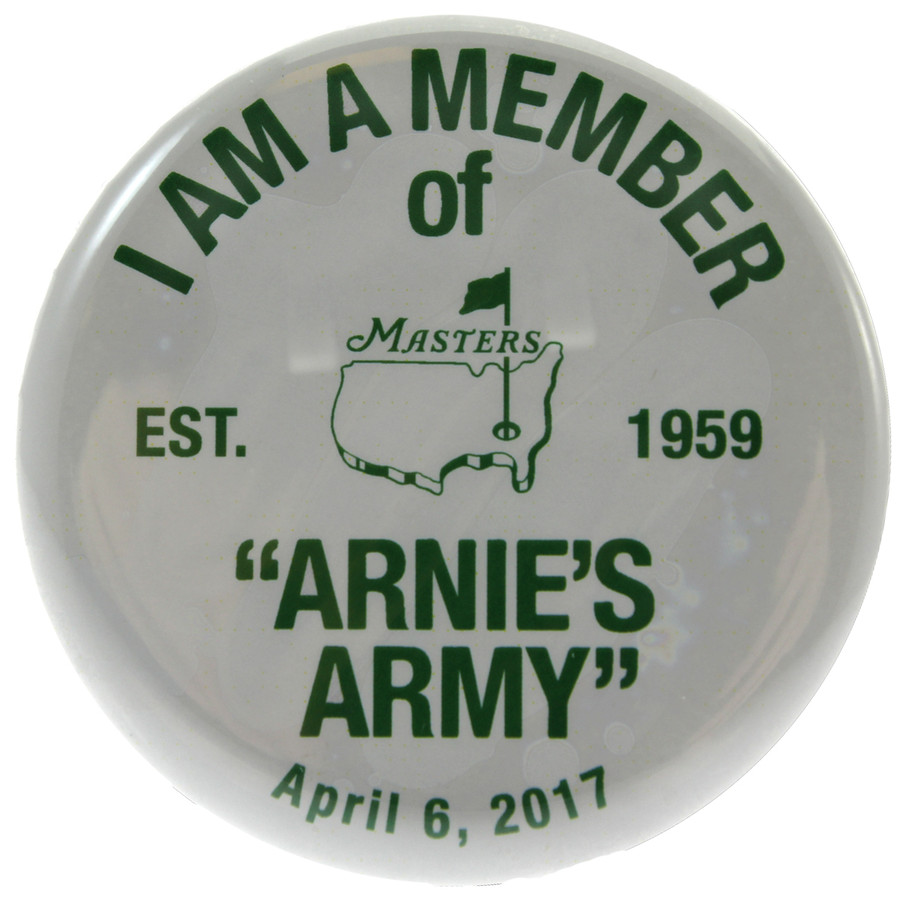 Arnie's Army Collectible Pin