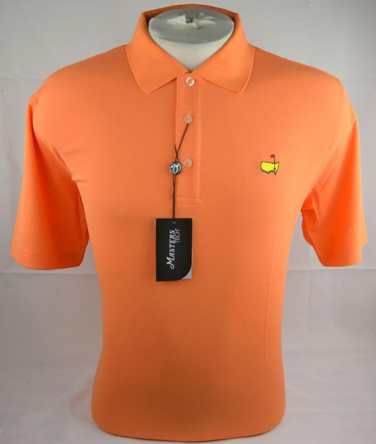 Masters Orange Performance Tech Golf Shirt