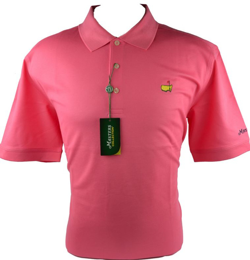 Masters Pink Performance Tech Golf Shirt (XXL Only)