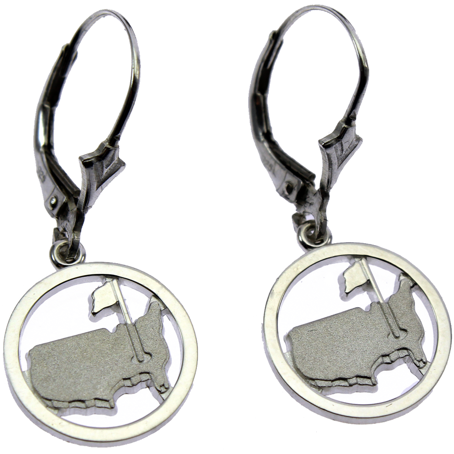 Masters Silver Earrings