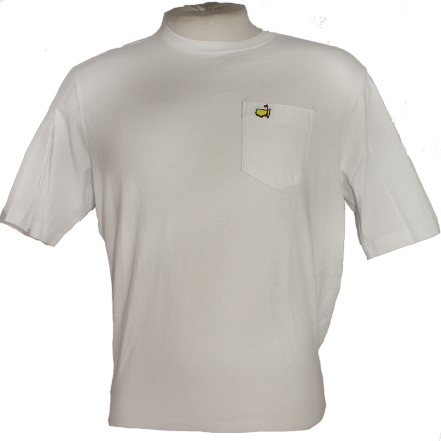 Masters Undated White Pocket T-Shirt