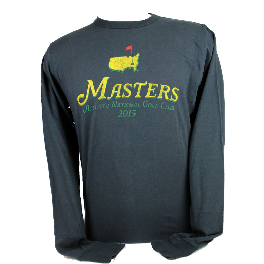 Masters 2015 Dated Navy Long Sleeve Shirt