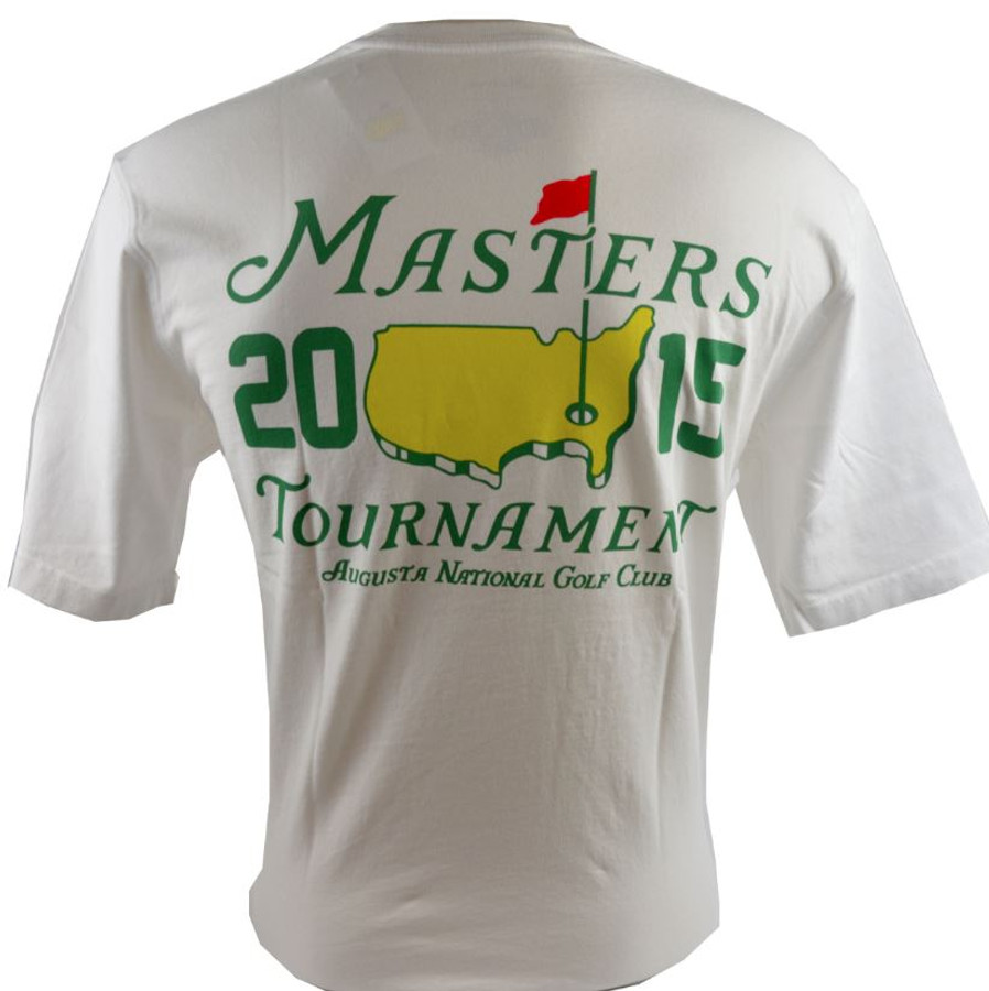2015 Dated Masters White Small Logo T-Shirt