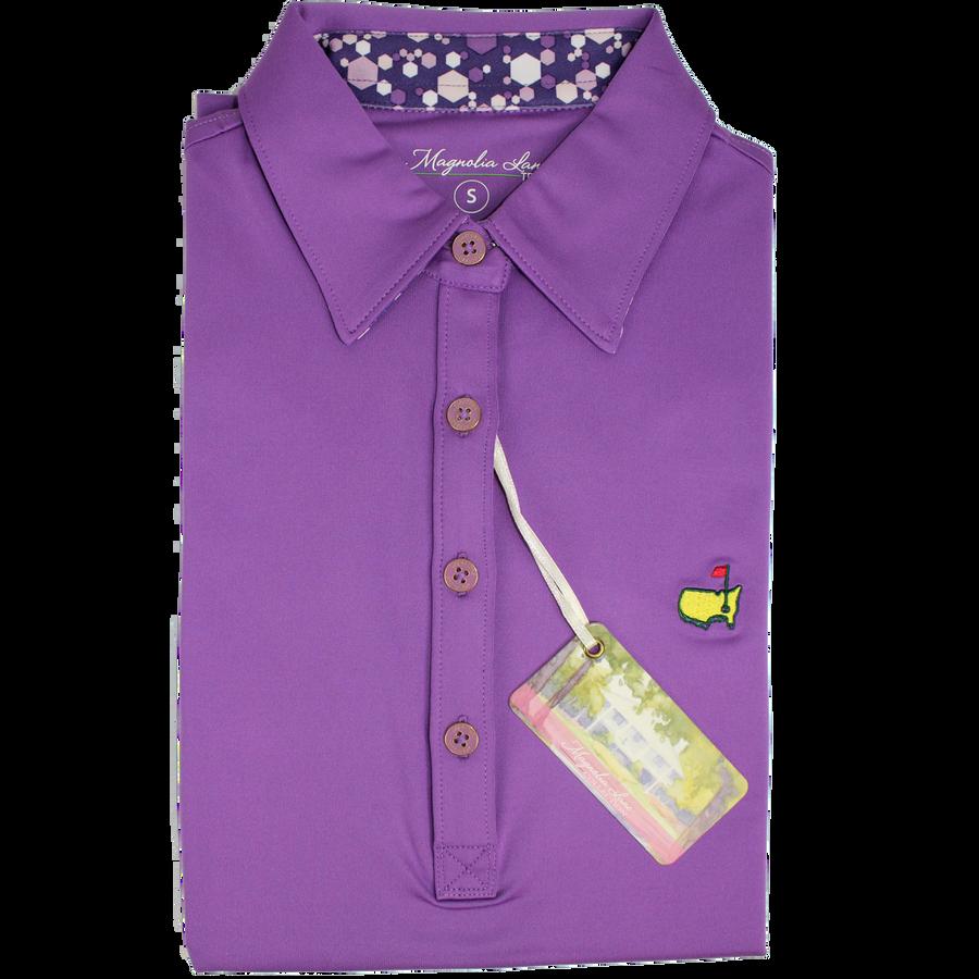 Masters Ladies Light Purple Golf Shirt