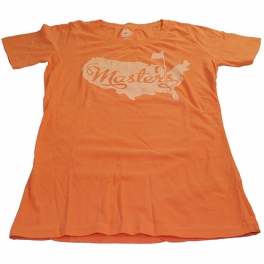Masters Ladies Orange T-Shirt