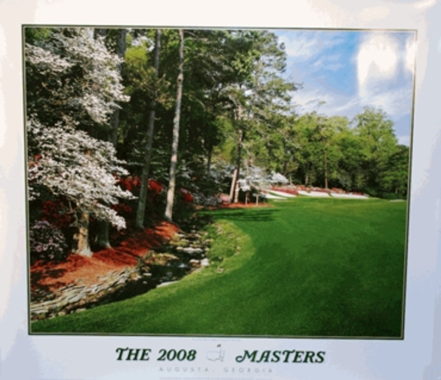 2008 Commemorative Masters Poster