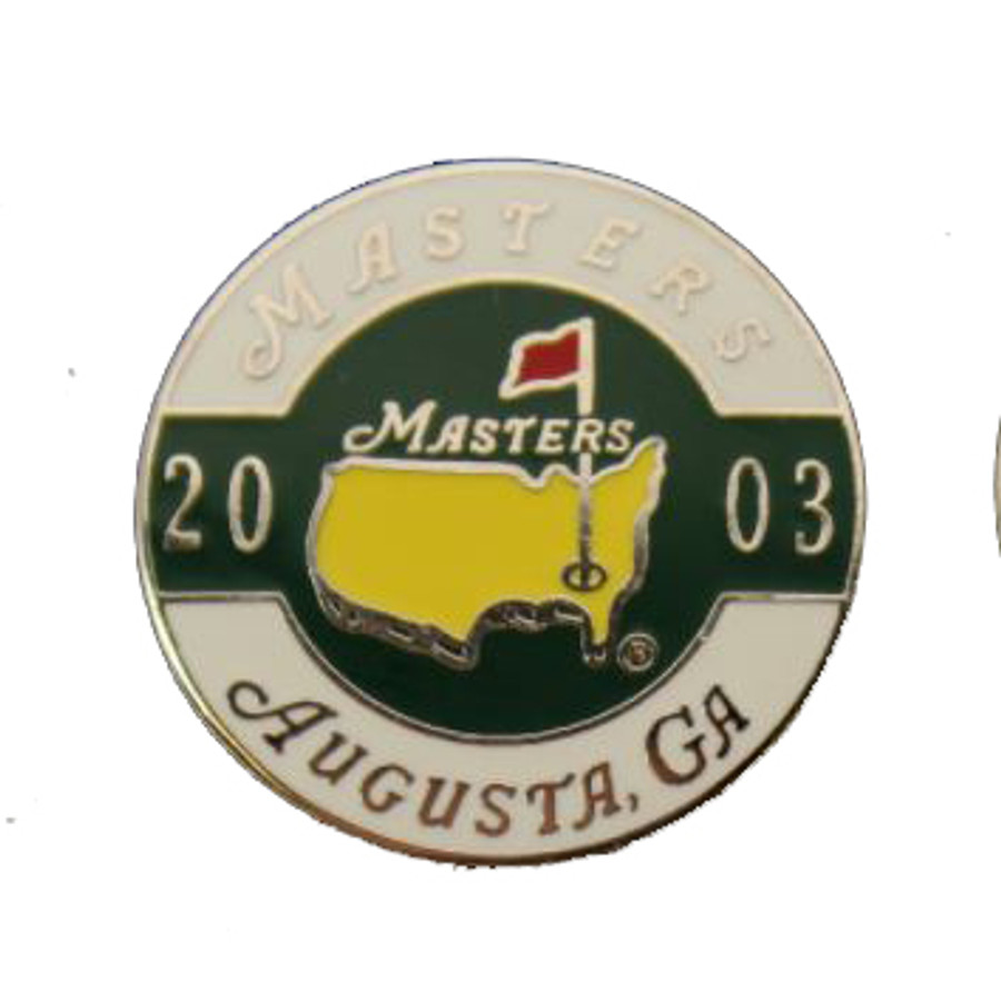 2003 Masters Ball Marker with Stem