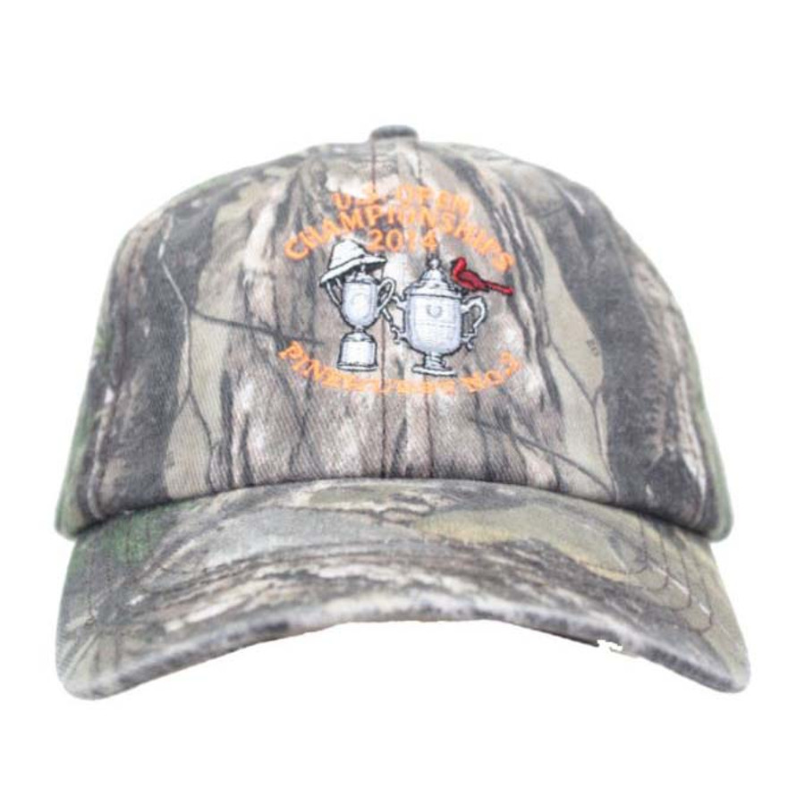2014 US Open Camouflage Hat with Orange