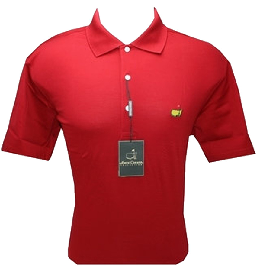 Masters Red Jersey Polo (Medium Only)