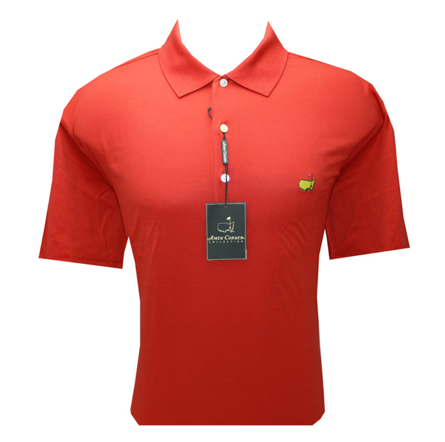 Masters Burnt Orange Pique Polo