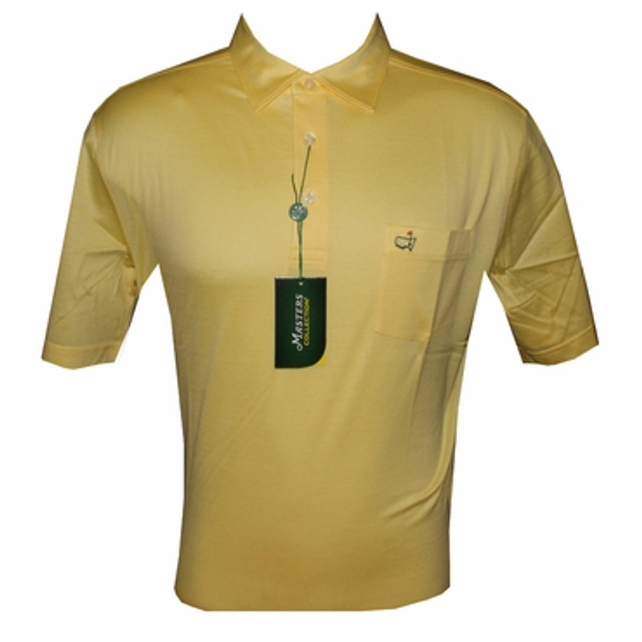 Masters Yellow Jersey Polo with Pocket