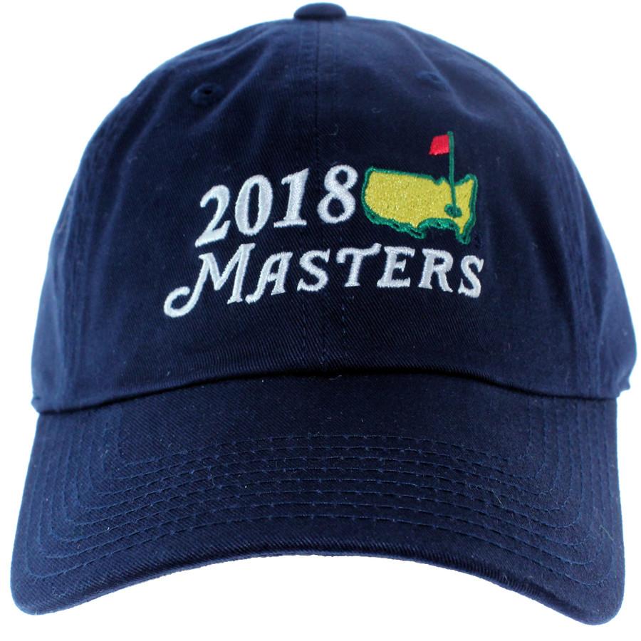 2018 Masters Big Logo Hat - Navy