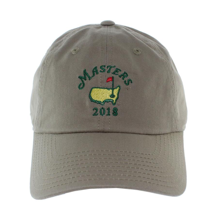 2018 Masters Khaki Caddy Hat