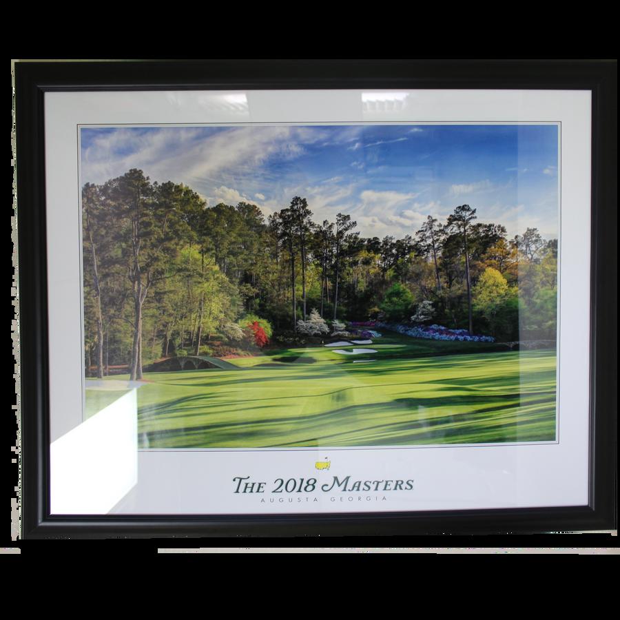 2018 Framed Masters Golden Bell Poster